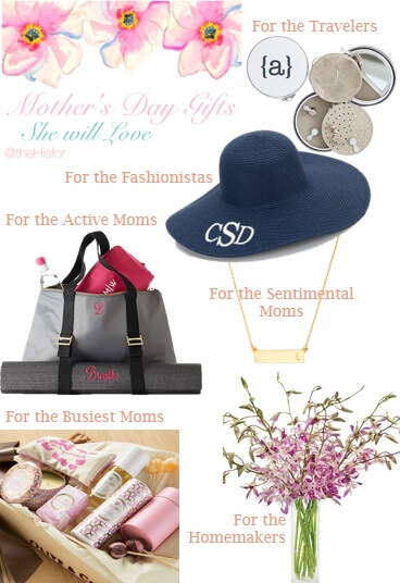 Mother 39 s day gift ideas she 39 ll love the h is for for Gifts she ll love