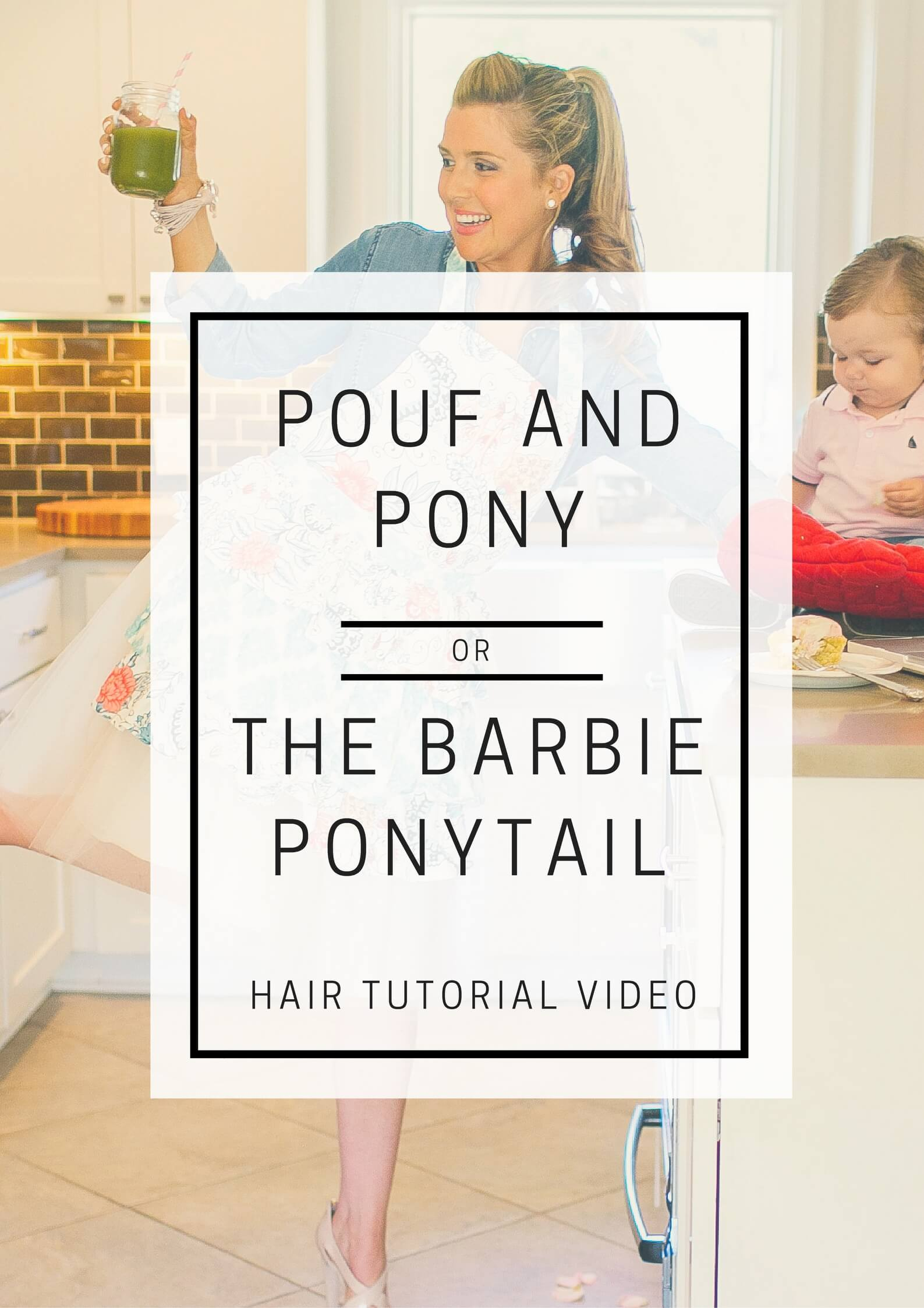 Barbie Ponytail // Hair Tutorial Video // www.https://www.thehisfor.com